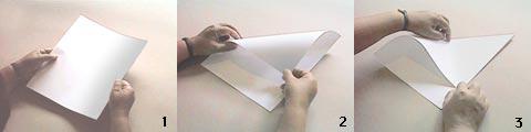 Kağıt uçak yapımı 1