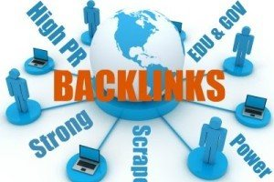 Backlink pagerank