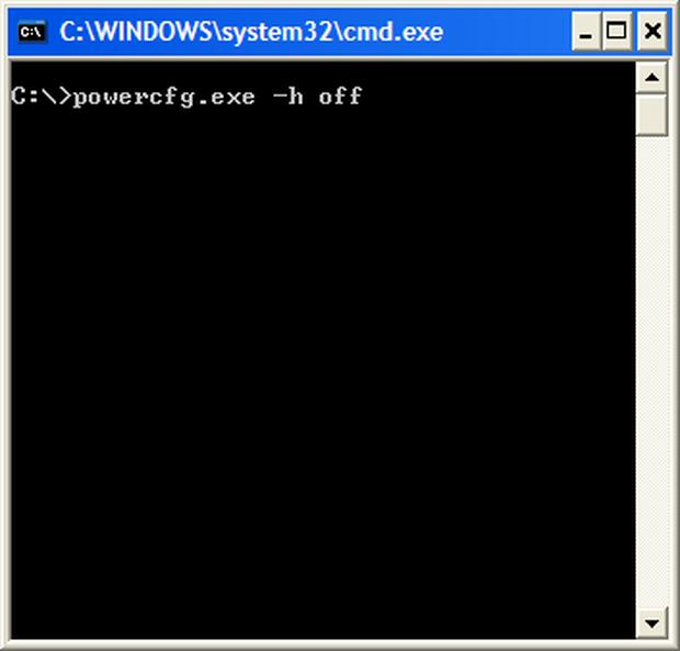 Hiberfil.sys dosyası nasıl silinir