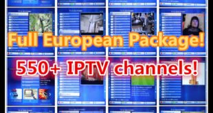 full iptv package